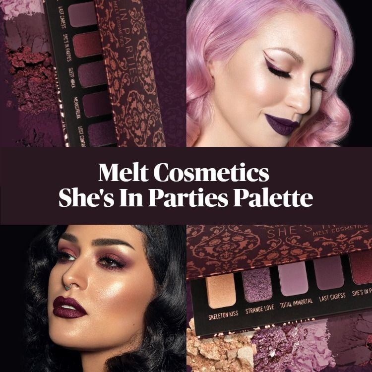 Sneak Peek! Melt Cosmetics She's in Parties Eyeshadow Palette