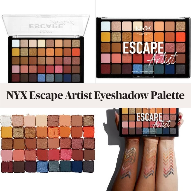 Get To Know The New NYX Escape Artist Eyeshadow Palette