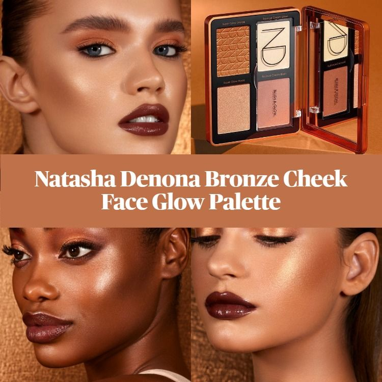 Sneak Peek! Natasha Denona Bronze Cheek Face Glow Palette