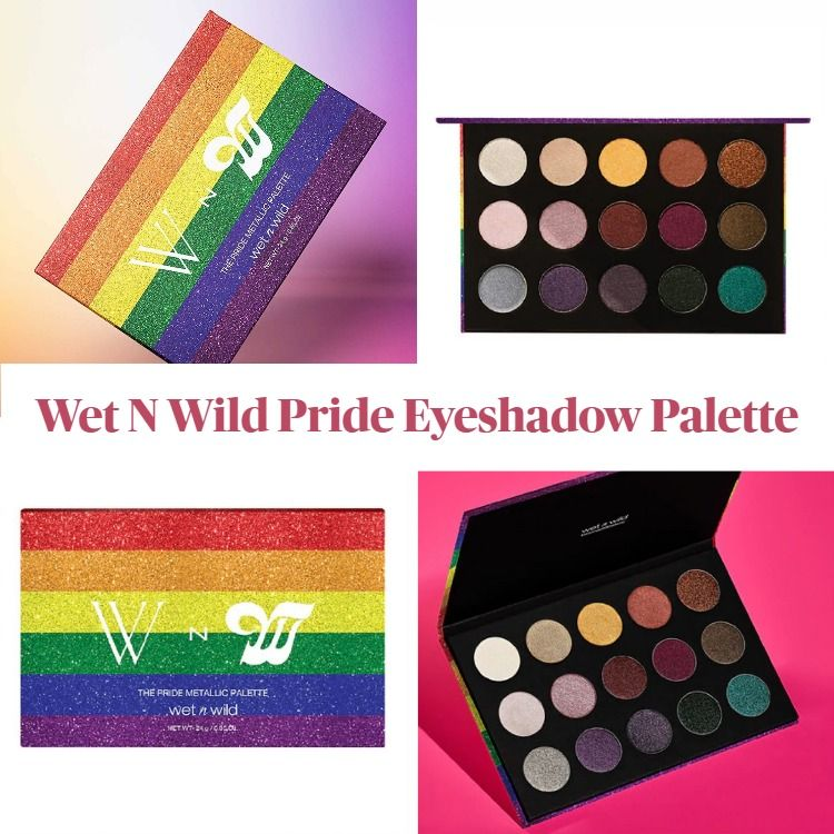 New! Wet N Wild Pride Eyeshadow Palette