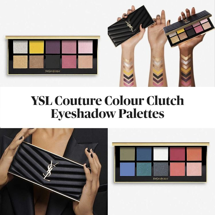 Get To Know The New YSL Couture Colour Clutch Eyeshadow Palette