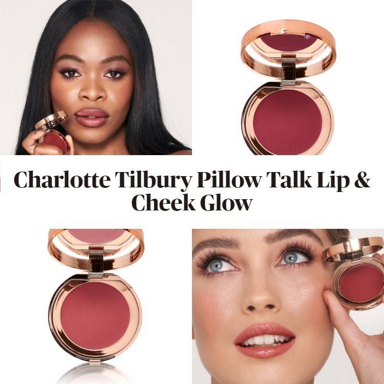 New! Charlotte Tilbury Pillow Talk Lip & Cheek Glow
