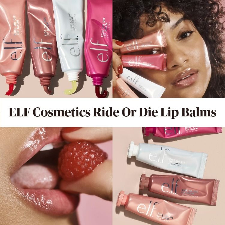 New! ELF Cosmetics Ride Or Die Lip Balms