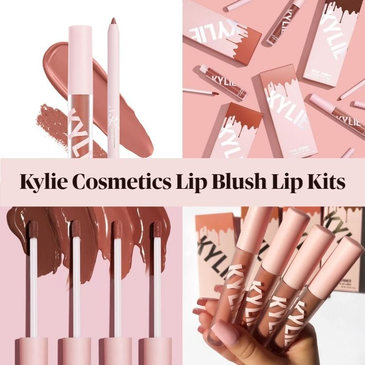 New! Kylie Cosmetics Lip Blush Lip Kits