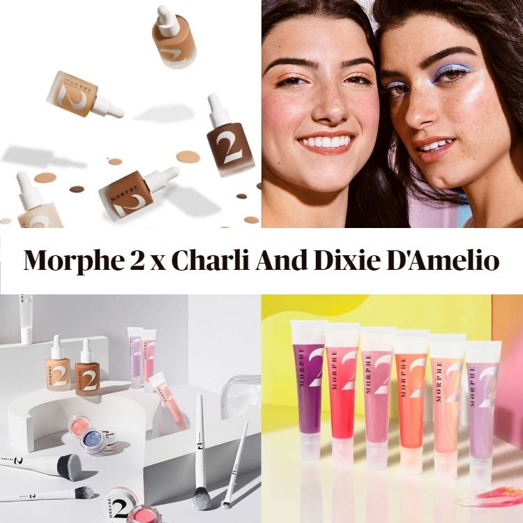 Sneak Peek! Morphe 2 x Charli And Dixie D'Amelio - Updated!