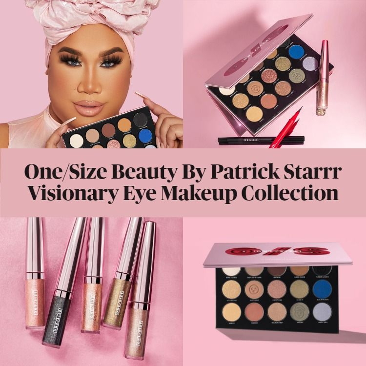 Sneak Peek! One Size Beauty By Patrick Starrr Visionary Eye Makeup Collection