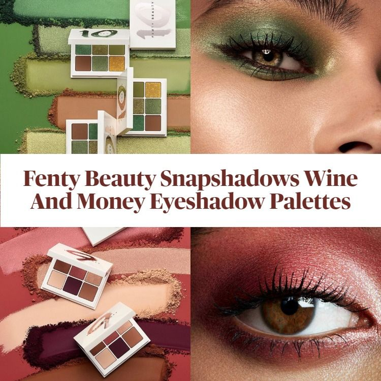 New! Fenty Beauty Snapshadows Wine And Money Eyeshadow Palettes