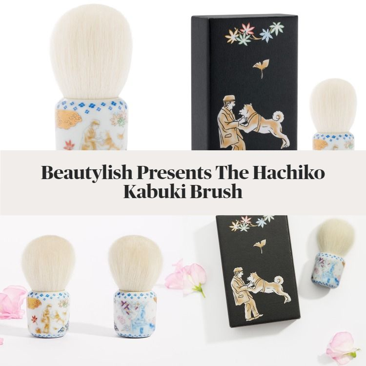 New! Beautylish Presents The Hachiko Kabuki Brush