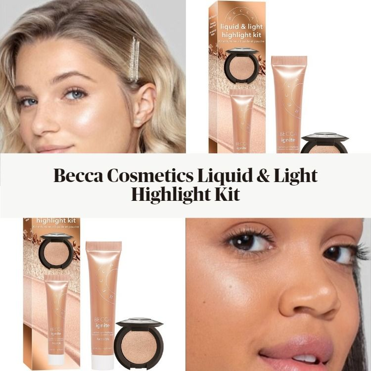 Becca Cosmetics Liquid & Light Highlight Kit
