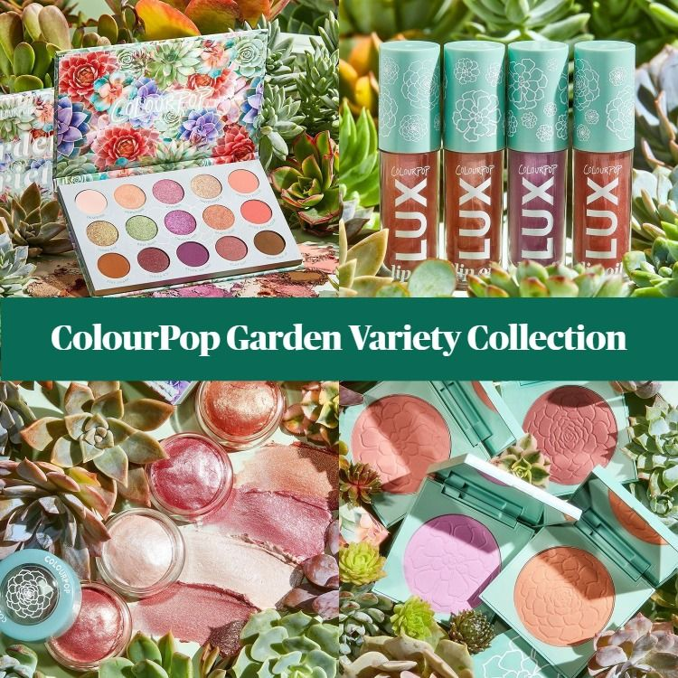 Sneak Peek! ColourPop Garden Variety Collection