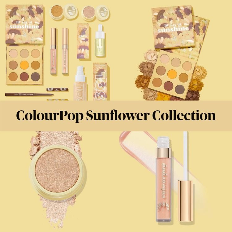 New! ColourPop Sunflower Collection