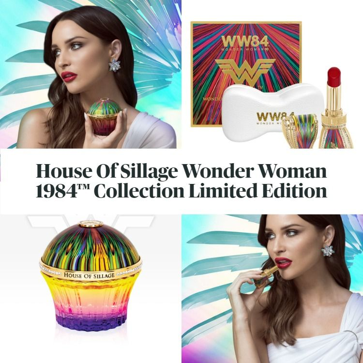 New! House Of Sillage Wonder Woman 1984™ Collection Limited Edition