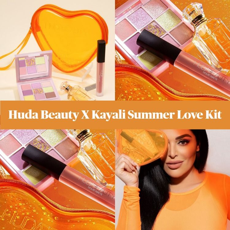 Huda Beauty X Kayali Summer Love Kit