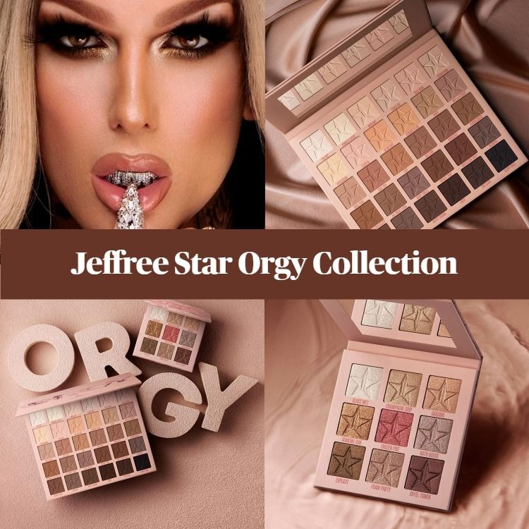Sneak Peek! Jeffree Star Cosmetics Orgy Collection - Updated!