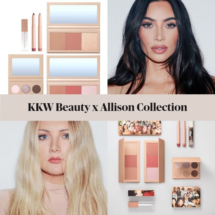 New! KKW Beauty x Allison Collection