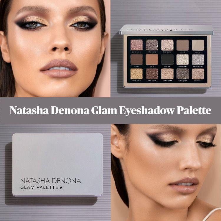 Sneak Peek! Natasha Denona Glam Eyeshadow Palette