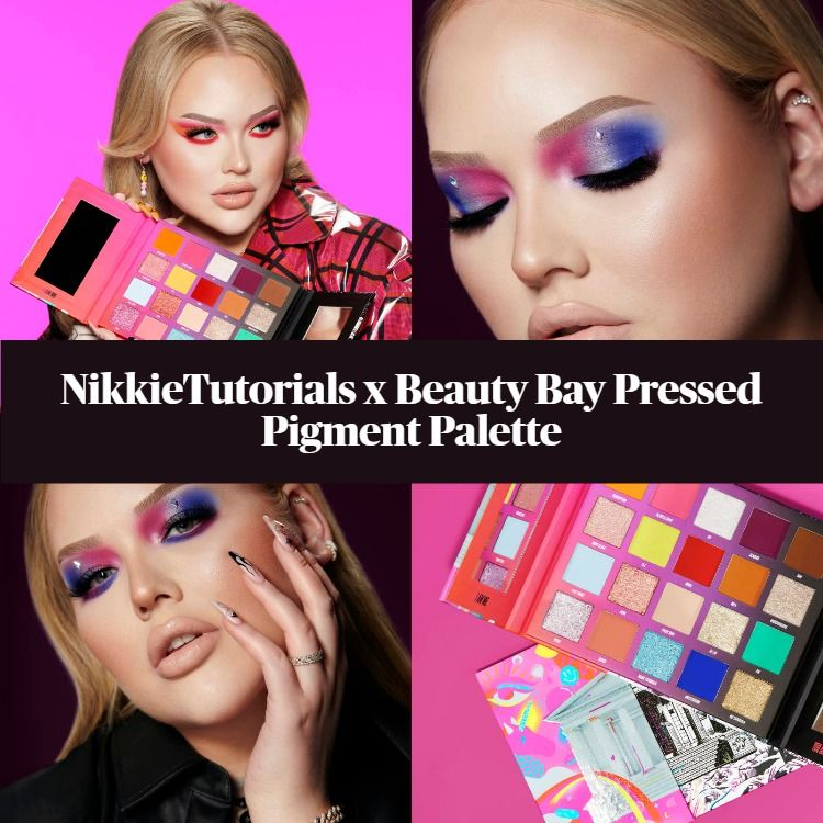 Sneak Peek! NikkieTutorials x Beauty Bay Pressed Pigment Palette