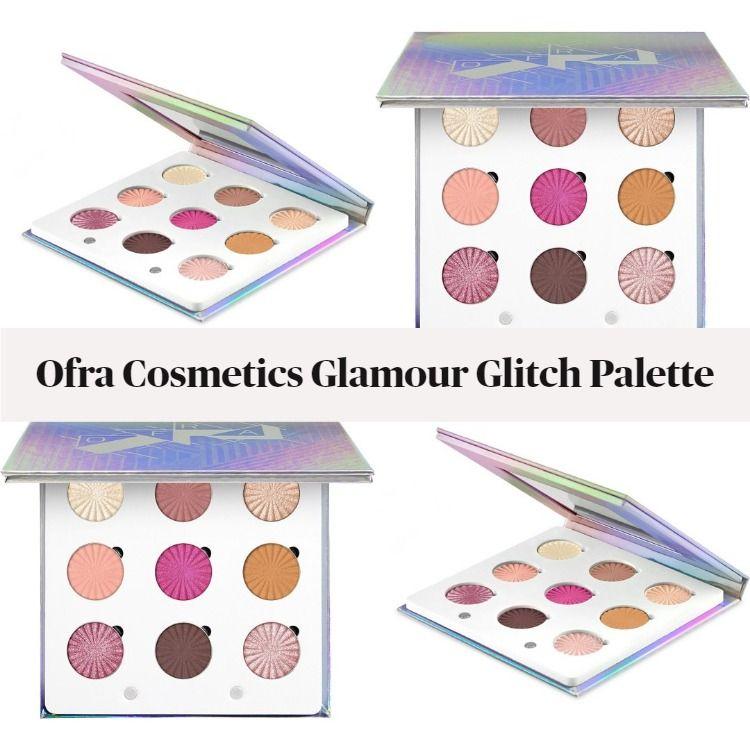 New! Ofra Cosmetics Glamour Glitch Palette