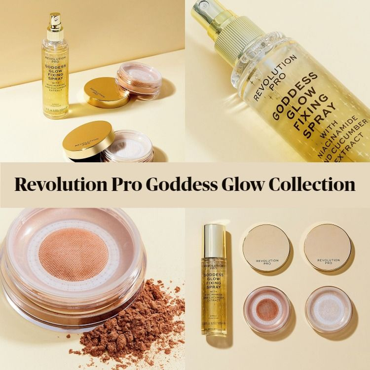Get To Know The New Revolution Pro Goddess Glow Collection
