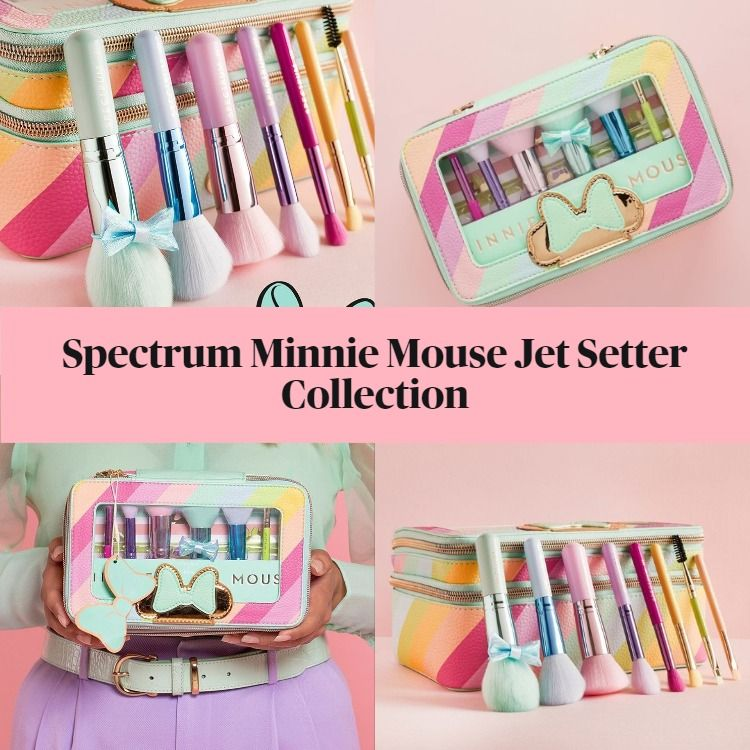 New! Spectrum Minnie Mouse Jet Setter Collection
