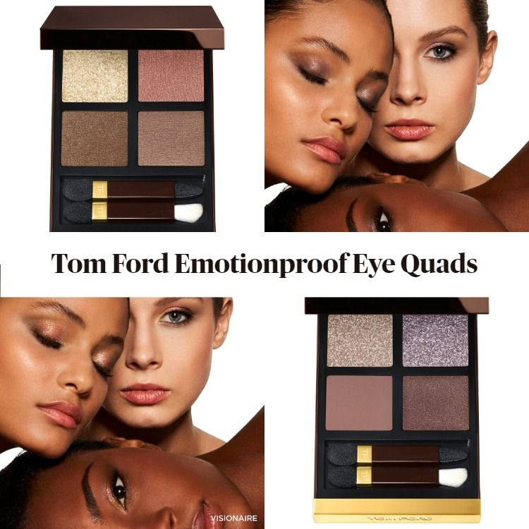 New! Tom Ford Beauty Emotionproof Eye Quads Meteoric & Visionaire