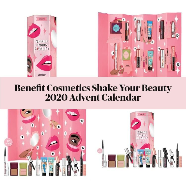 Benefit Cosmetics Shake Your Beauty Holiday 2020 Advent Calendar