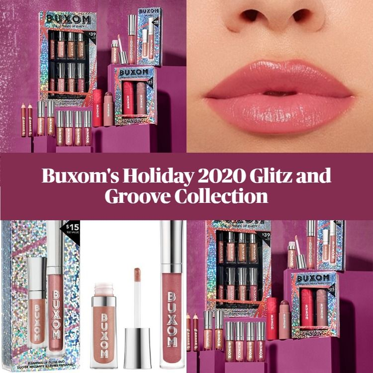 New! Buxom's Holiday 2020 Glitz and Groove Collection