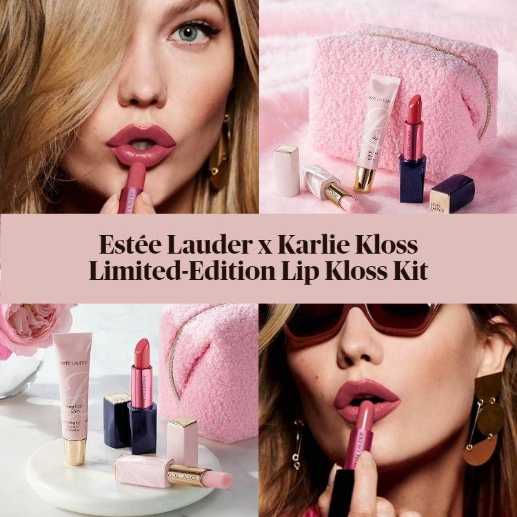 New! Estée Lauder x Karlie Kloss Limited-Edition Lip Kloss Kit