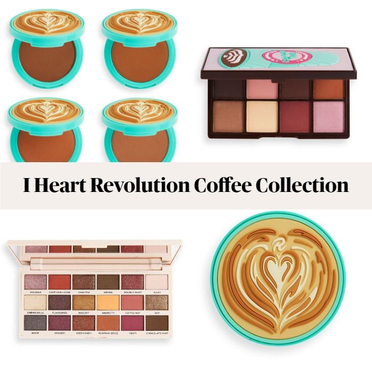New From Makeup Revolution!  I Heart Revolution Coffee Collection
