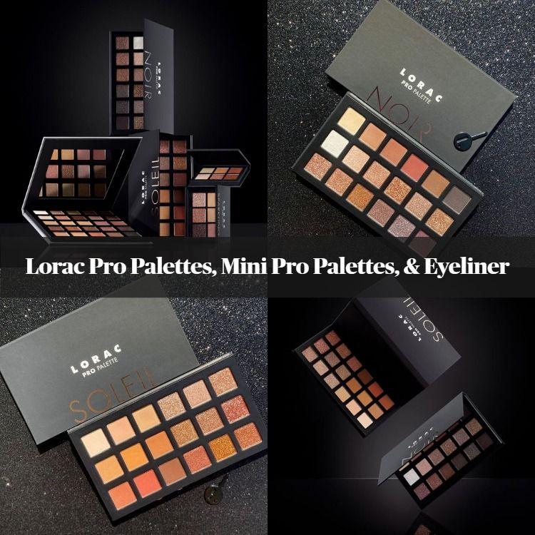 New! Lorac Pro Palettes, Mini Pro Palettes, & Eyeliner