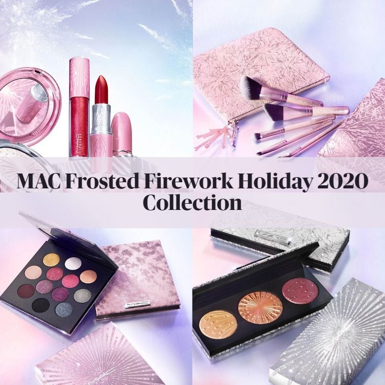 Sneak Peek! MAC Frosted Firework Holiday Collection