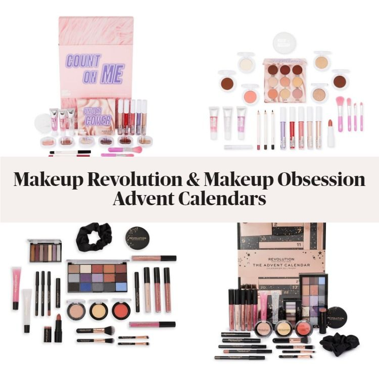 New! Makeup Revolution & Makeup Obsession Holiday 2020 Advent Calendars