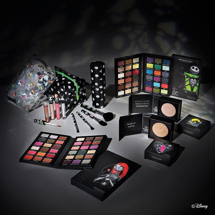 Nightmare Before Christmas 2020 Collection Sneak Peek! Makeup Revolution X Disney Nightmare Before Christmas