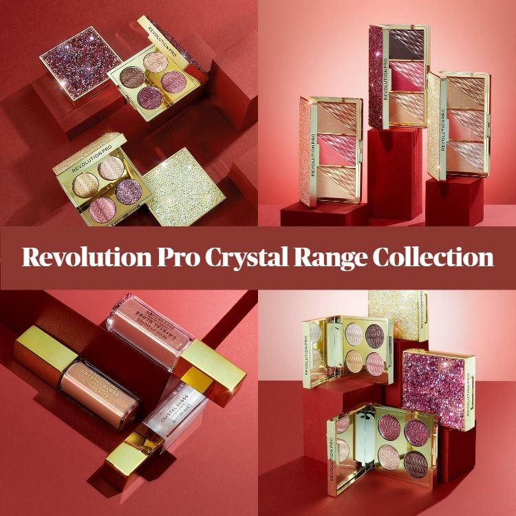 New Collection! Revolution Pro Crystal Range