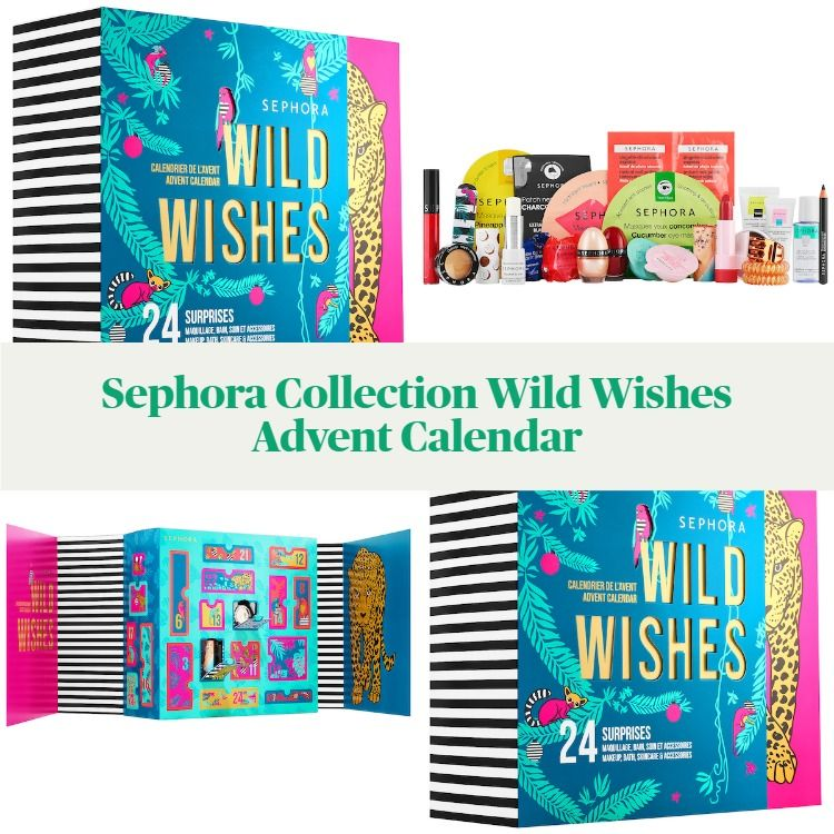 Sephora Collection Holiday 2020 Wild Wishes Advent Calendar