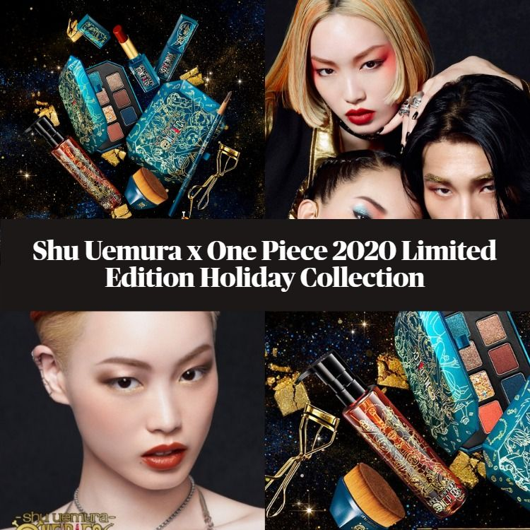Sneak Peek! Shu Uemura x One Piece 2020 Limited Edition Holiday Collection