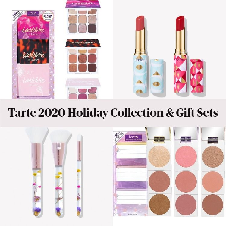 New! Tarte 2020 Holiday Collection & Gift Sets