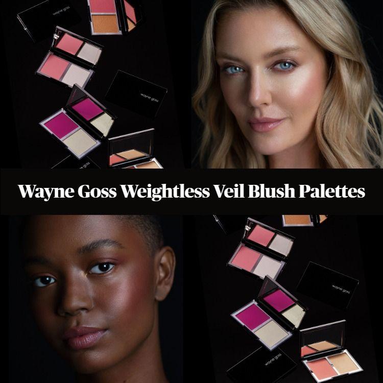 Wayne Goss Weightless Veil Blush Palettes