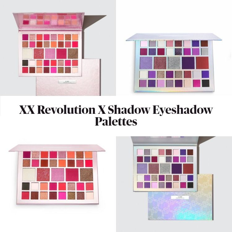 New From Makeup Revolution!  It's The XX Revolution X Shadow Eyeshadow Palette