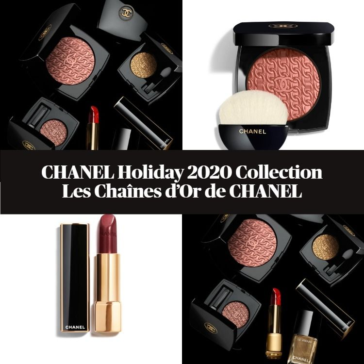 CHANEL Holiday 2020 Collection – Les Chaînes d'Or de CHANEL