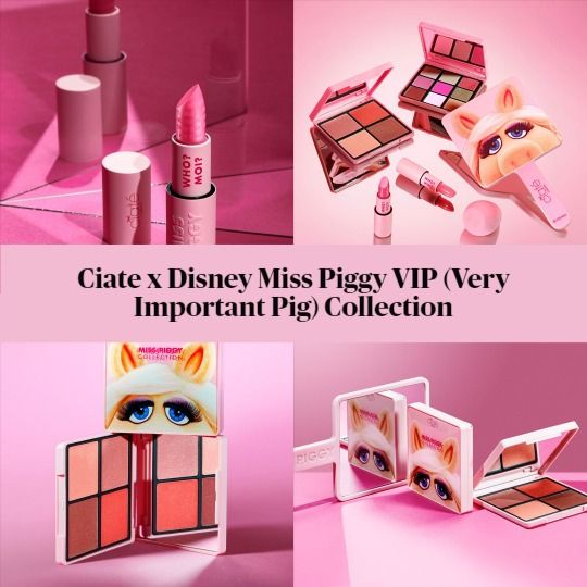 Ciate x Disney Miss Piggy VIP (Very Important Pig) Collection