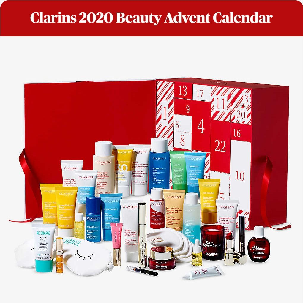 Clarins 2020 Holiday Beauty Advent Calendar - 24 Days of Beauty Surprises