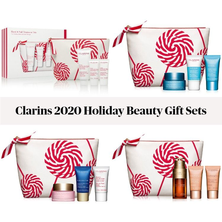 Clarins 2020 Limited-Edition Holiday Beauty Gift Sets