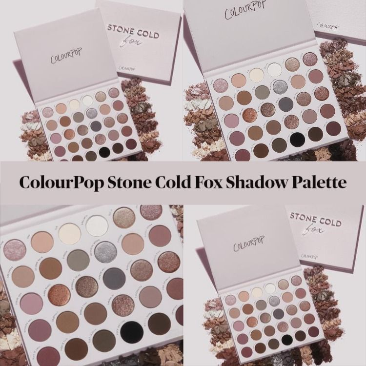 ColourPop Stone Cold Fox Cool Tone Eyeshadow Palette