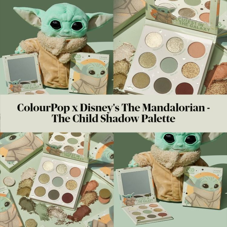 Sneak Peek! ColourPop The Child Palette - Inspired by Disney's The Mandalorian