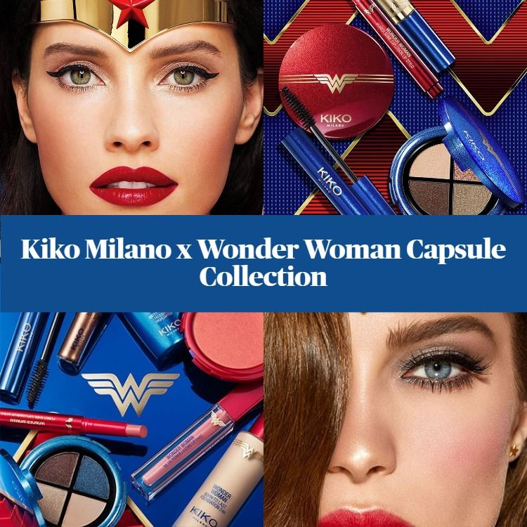 Kiko Milano x Wonder Woman Capsule Collection