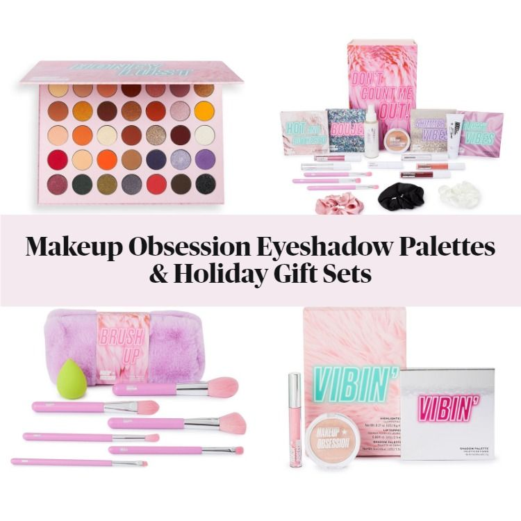 New! Makeup Obsession Eyeshadow Palettes & Holiday Gift Sets