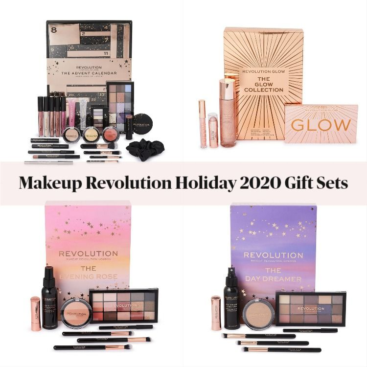 Makeup Revolution Holiday 2020 Gift Sets Featuring The PR Box
