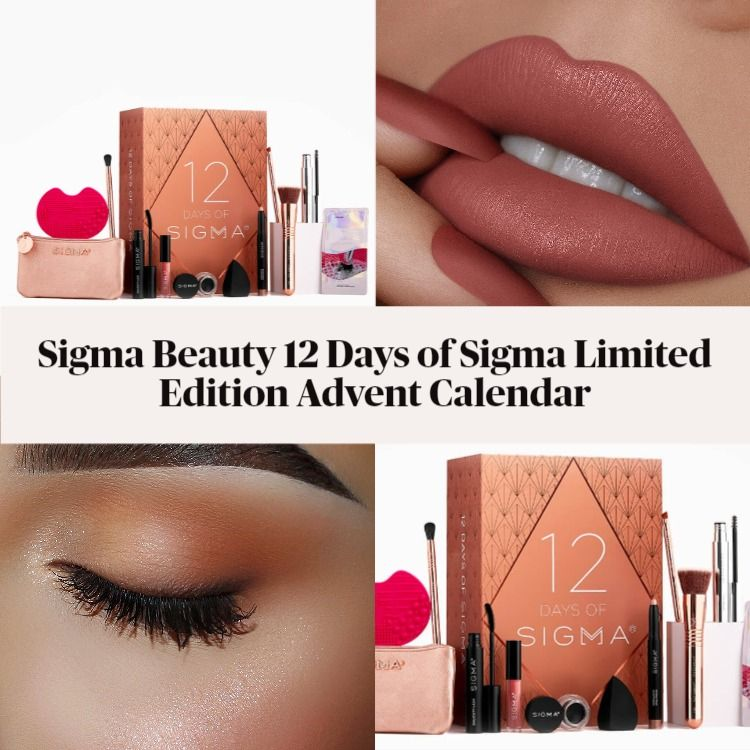 Sigma Beauty 12 Days of Sigma Limited Edition Advent Calendar