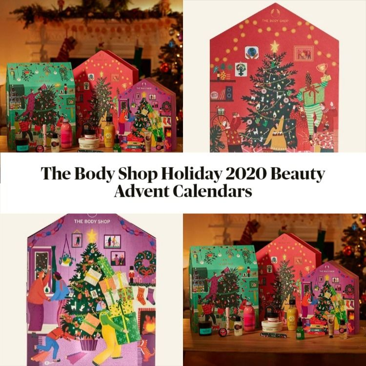 The Body Shop Holiday 2020 Beauty Advent Calendars